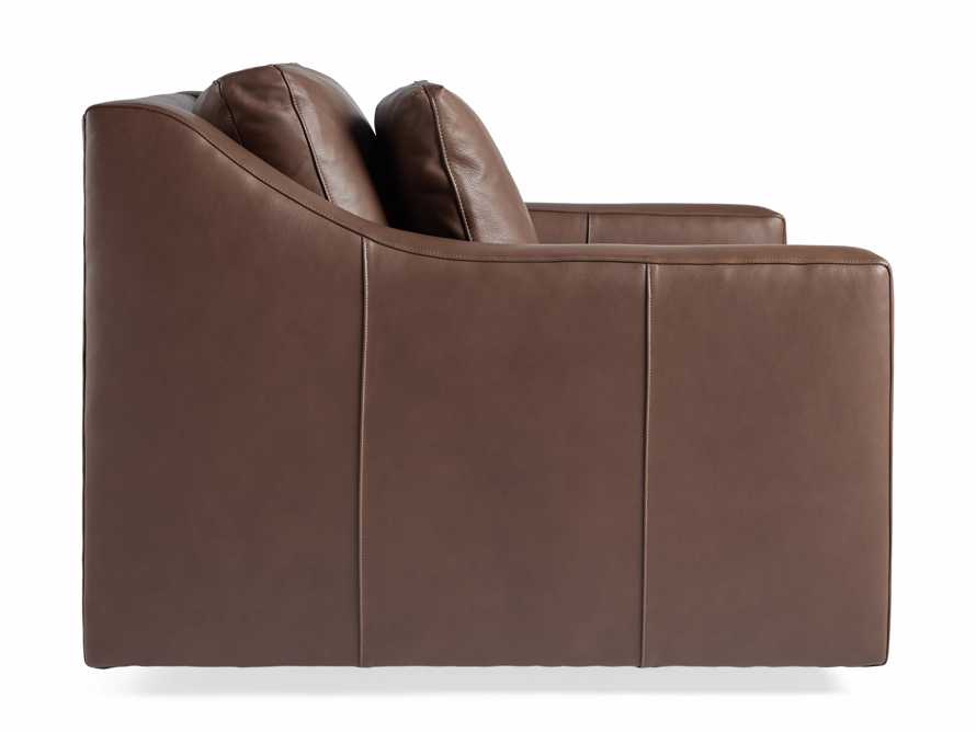 """Ashby Leather 39"""" Swivel Chair, slide 7 of 7"""