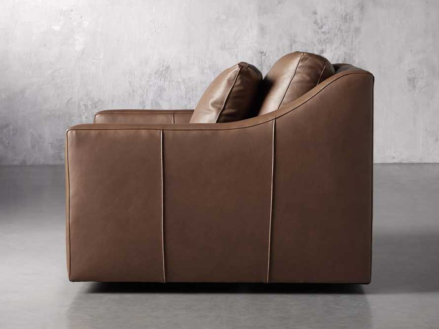 """Ashby Leather 39"""" Swivel Chair, slide 3 of 7"""