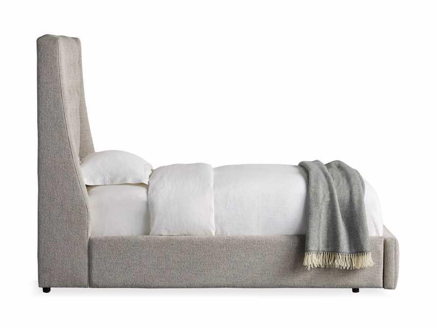"Devereaux Upholstered 62"" Twin Storage Bed in Plush Linen, slide 10 of 10"