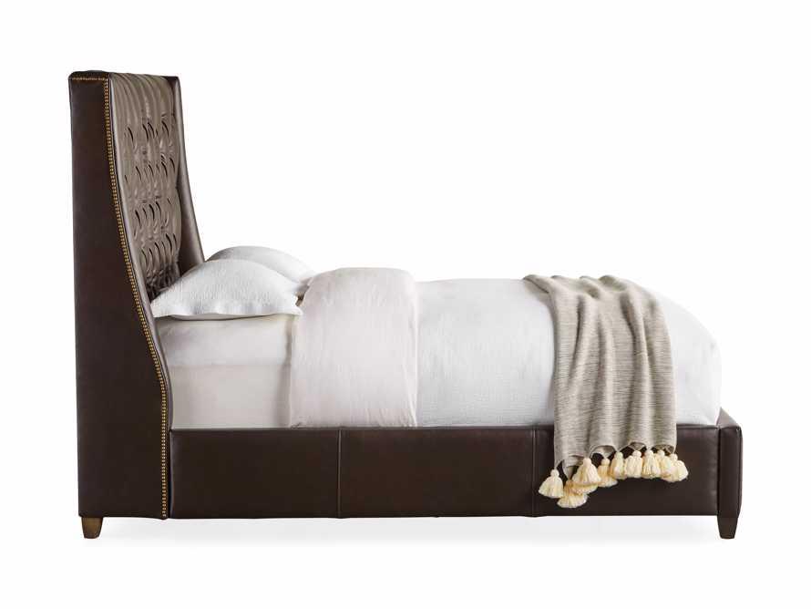 """Devereaux Leather 63"""" Tufted King Bed, slide 8 of 8"""