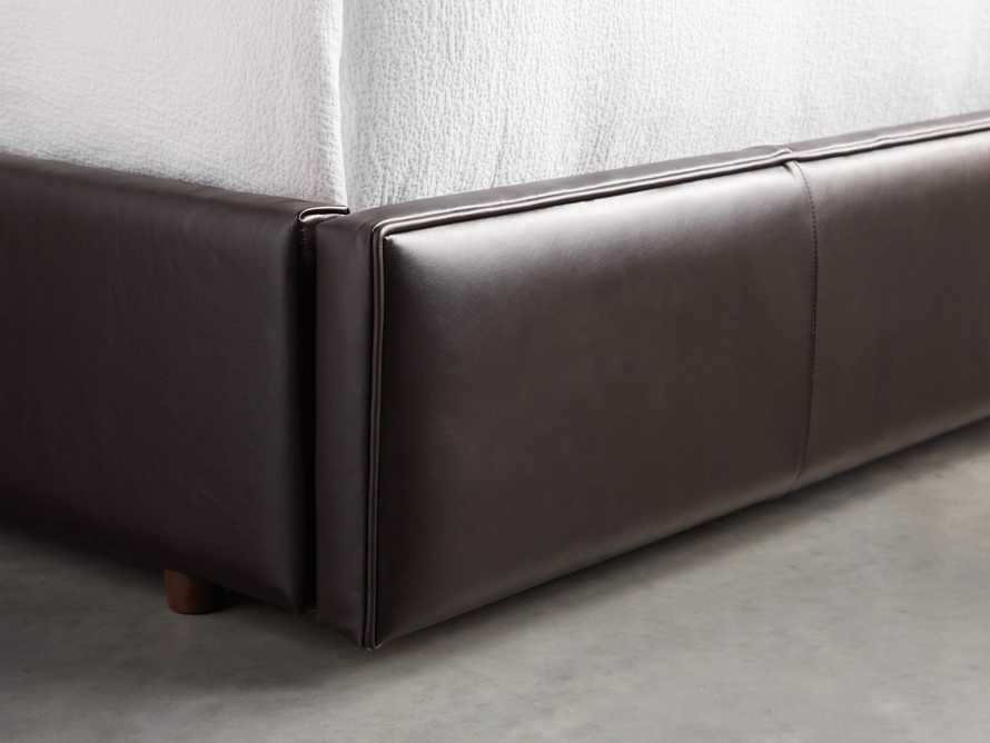 "Devereaux 63"" Leather Tufted Storage Queen Bed, slide 7 of 9"