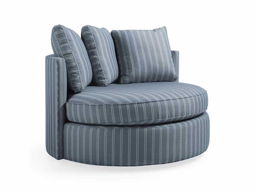 "Elia Outdoor 41"" Upholstered Swivel Chair"