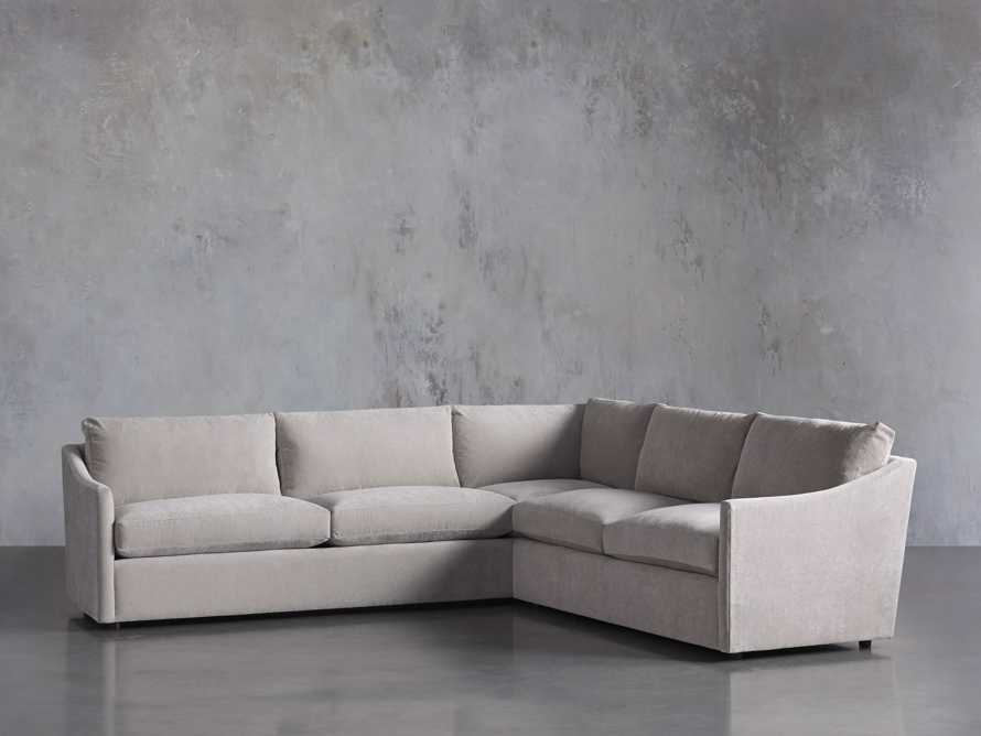 "Branson Upholstered 108"" Right Arm Two Piece Sectional, slide 3 of 7"