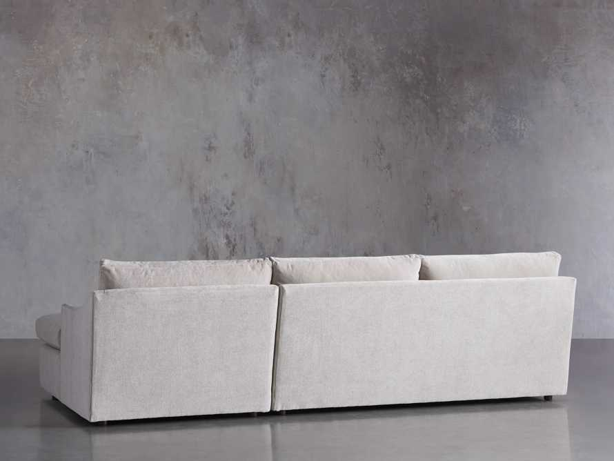 """Branson Upholstered 111"""" Right Arm Two Piece Sectional with Chaise, slide 3 of 6"""