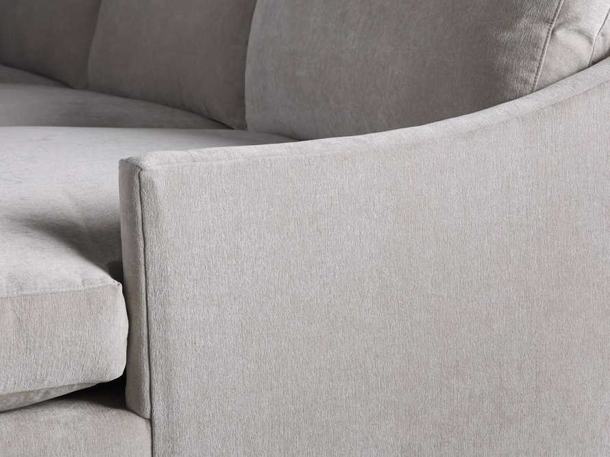 """Branson Upholstered 111"""" Right Arm Two Piece Sectional with Chaise, slide 5 of 6"""