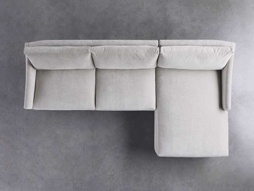 """Branson Upholstered 111"""" Right Arm Two Piece Sectional with Chaise, slide 4 of 6"""