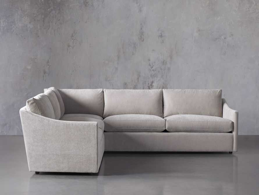 """Branson Upholstered 108"""" Three Piece Sectional, slide 2 of 7"""