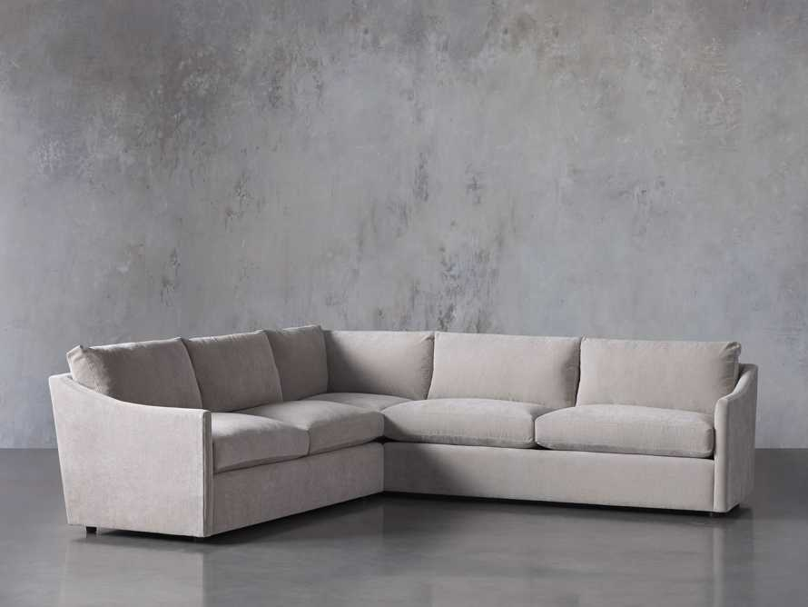 """Branson Upholstered 108"""" Three Piece Sectional, slide 3 of 7"""