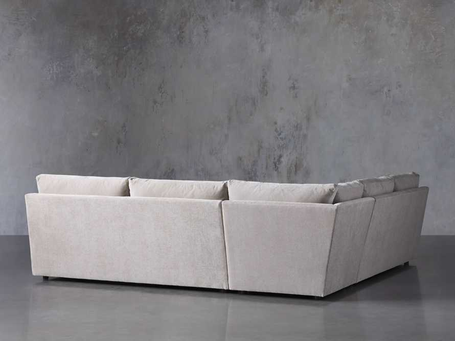"""Branson Upholstered 108"""" Three Piece Sectional, slide 4 of 7"""