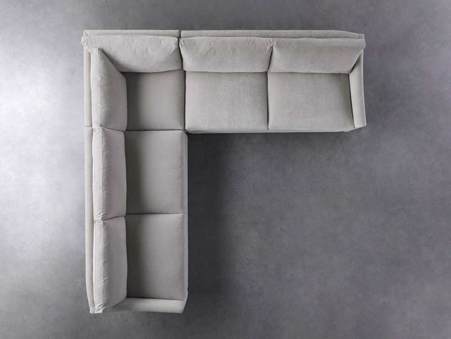 """Branson Upholstered 108"""" Three Piece Sectional, slide 5 of 7"""