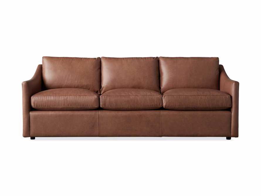 "Branson 84"" Leather Sofa, slide 7 of 8"