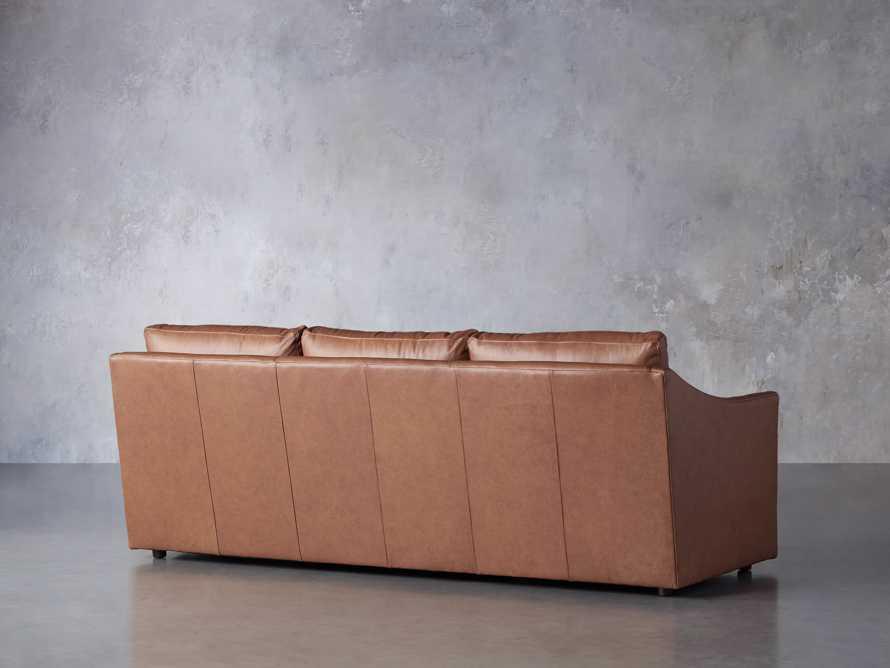 "Branson 84"" Leather Sofa, slide 5 of 8"