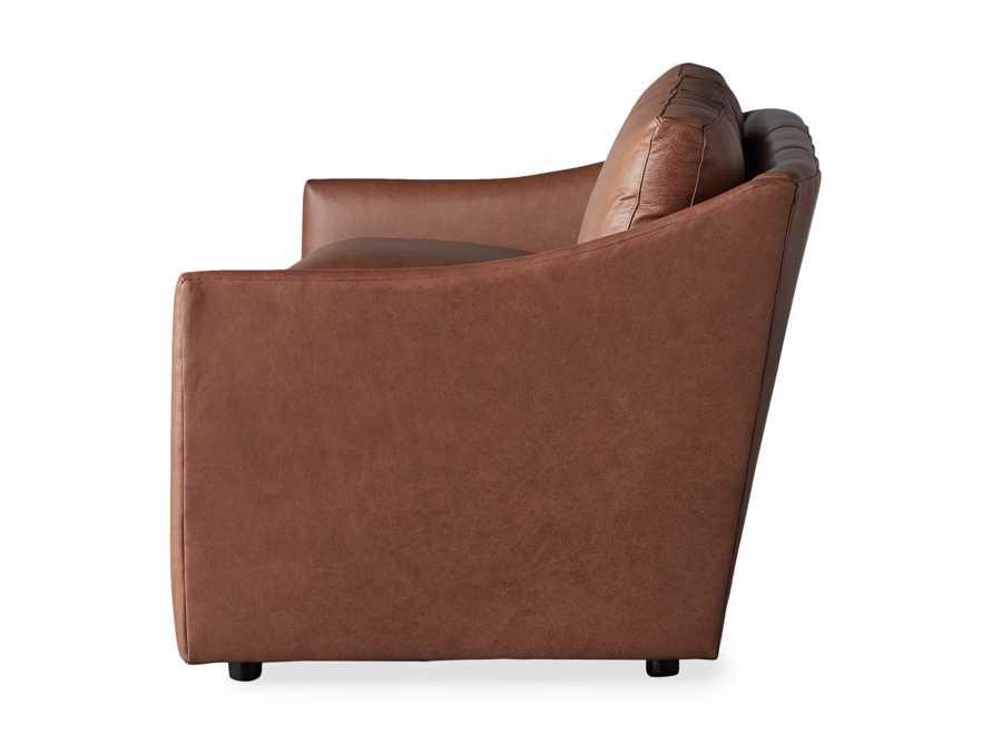 "Branson 84"" Leather Sofa, slide 8 of 8"