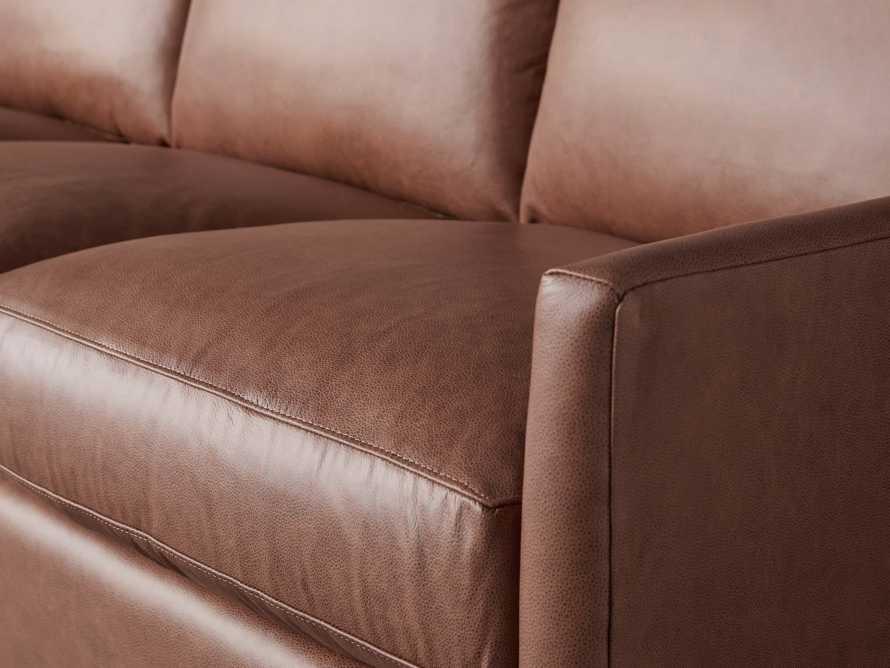 "Branson 84"" Leather Sofa, slide 6 of 8"