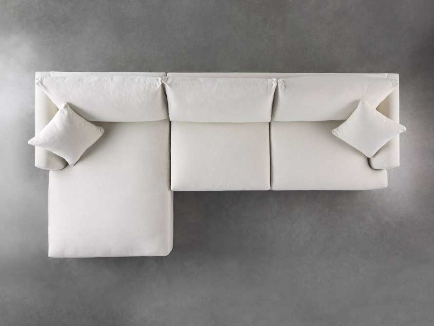 Emory Petite Upholstered Two Piece Sectional, slide 5 of 7