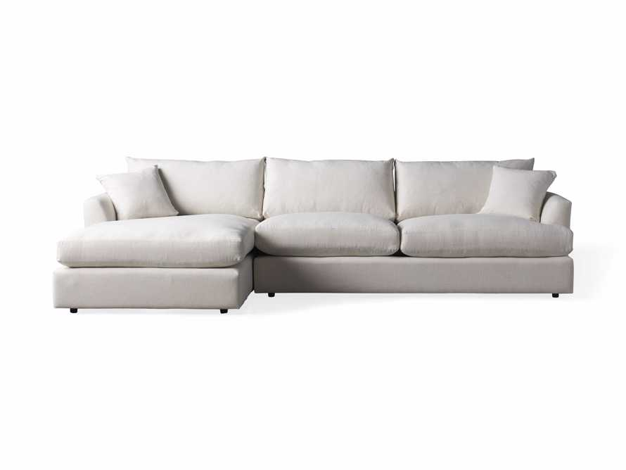 Emory Petite Upholstered Two Piece Sectional, slide 7 of 7
