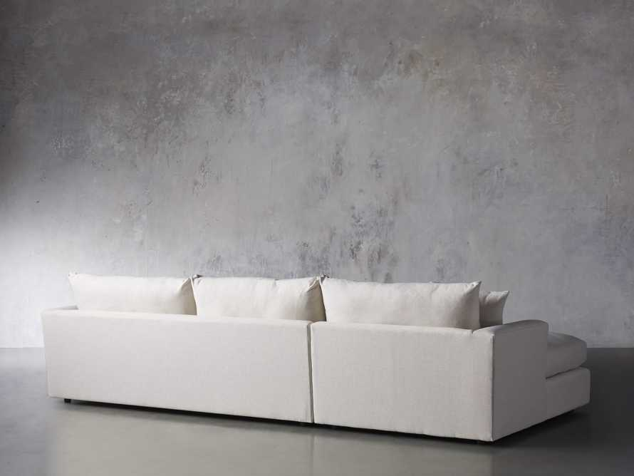 Emory Petite Upholstered Two Piece Sectional, slide 4 of 7