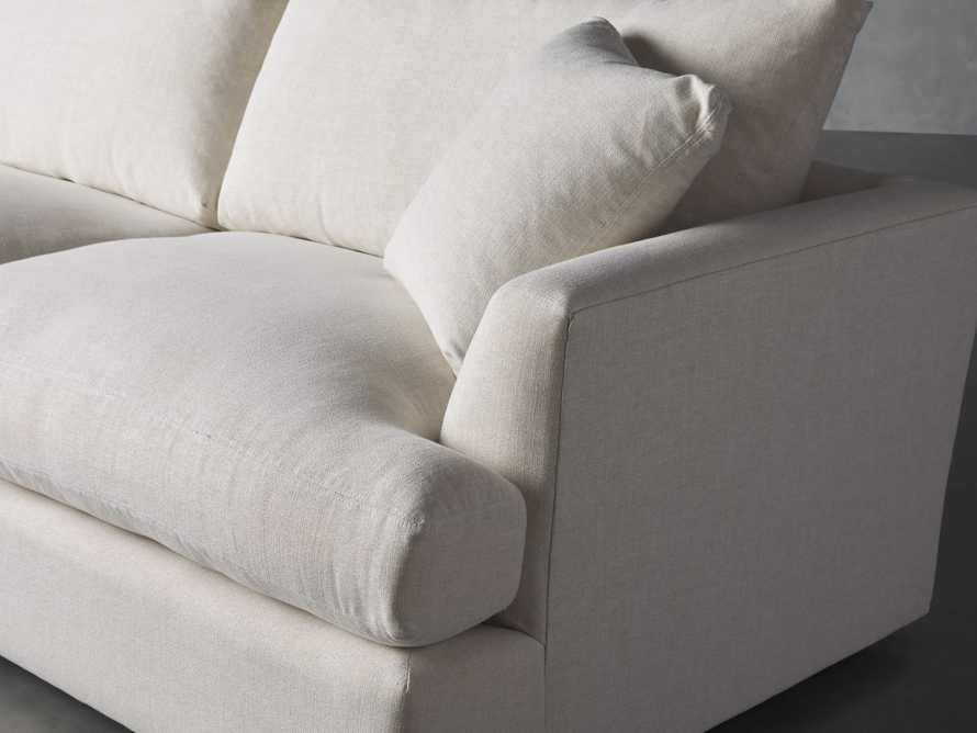 Emory Petite Upholstered Two Piece Sectional, slide 6 of 7