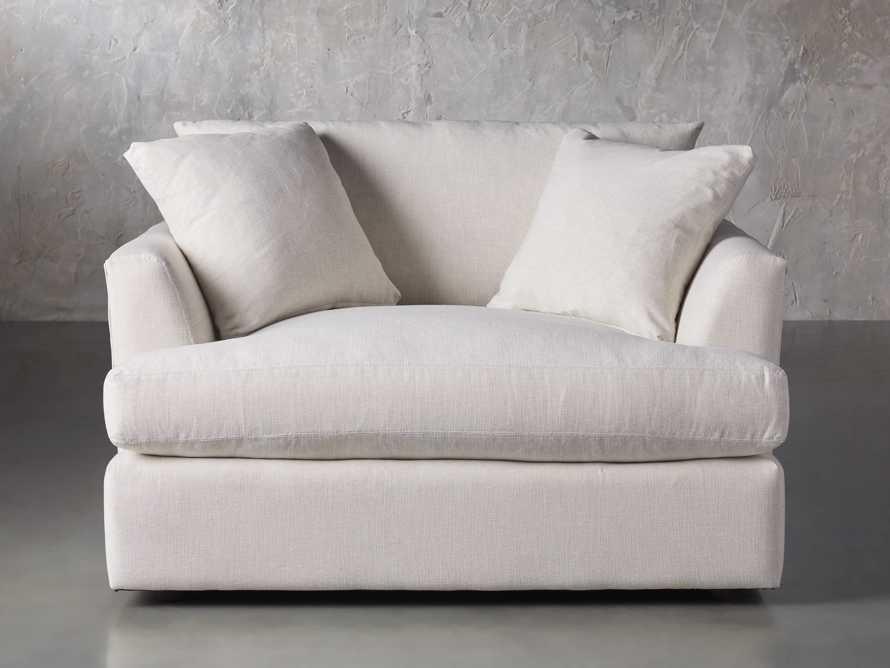 "Emory Upholstered 53"" Chair, slide 2 of 8"