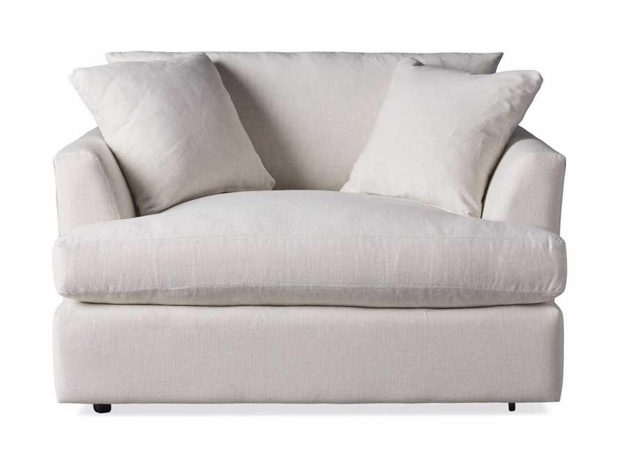 "Emory Upholstered 53"" Chair, slide 7 of 8"