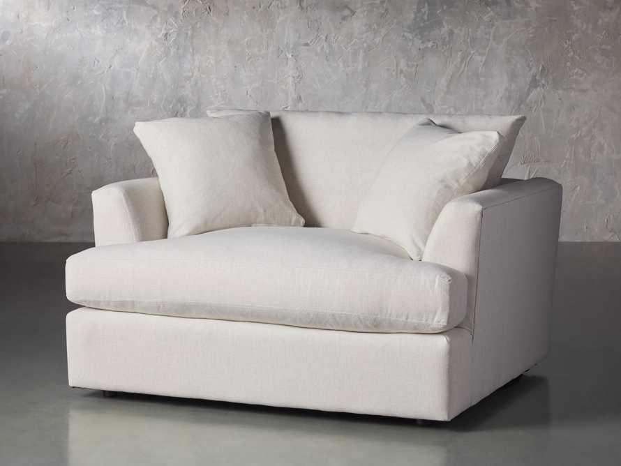 "Emory Upholstered 53"" Chair, slide 3 of 8"