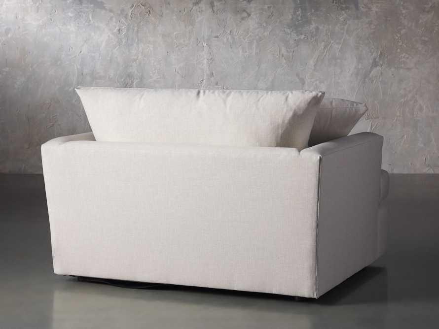 "Emory Upholstered 53"" Chair, slide 5 of 8"