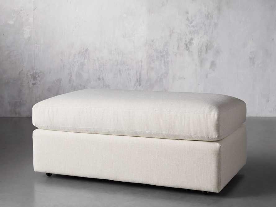 """Emory Upholstered 45"""" Ottoman, slide 3 of 5"""