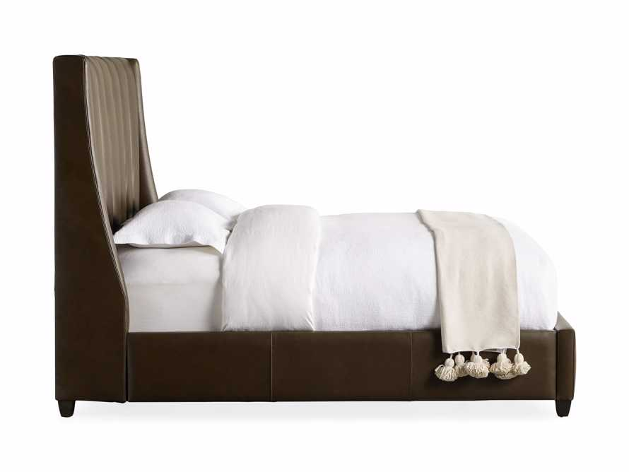 """Hayworth Leather 63"""" Queen Bed, slide 8 of 8"""