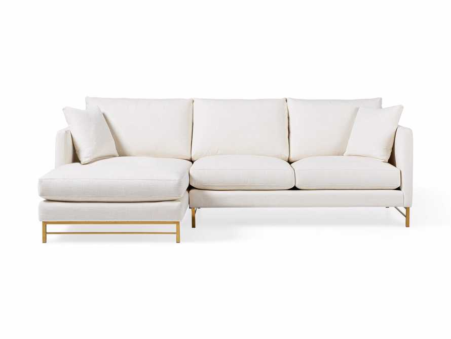 """Hayden Upholstered 107"""" Two Piece Sectional, slide 3 of 8"""