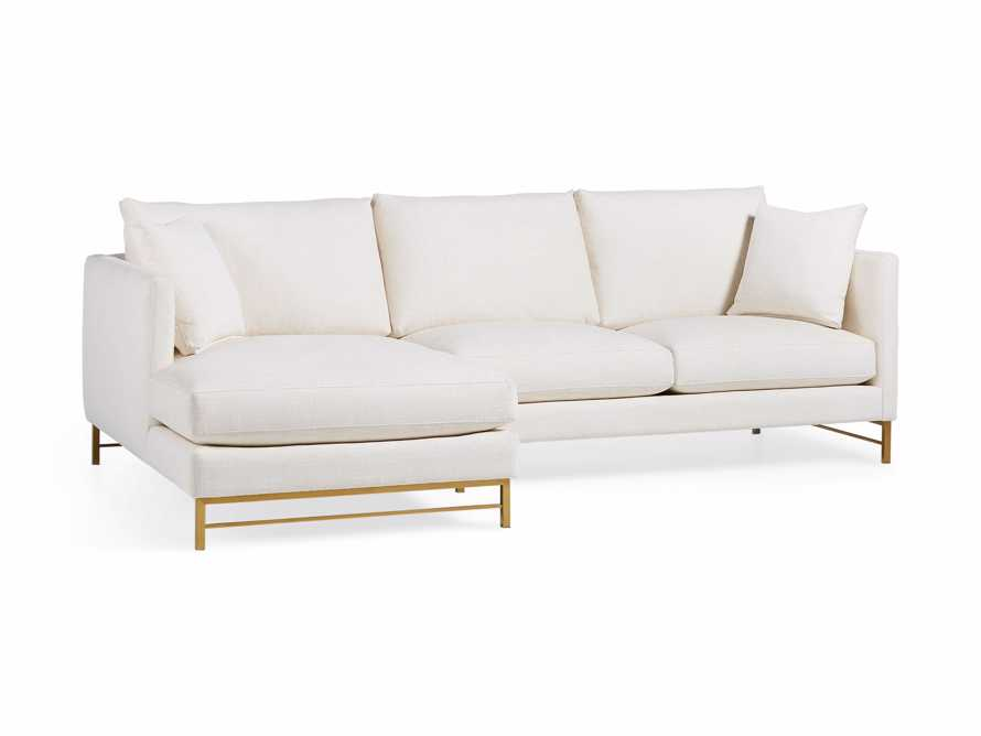 """Hayden Upholstered 107"""" Two Piece Sectional, slide 4 of 8"""
