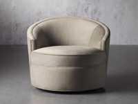 """Harper Upholstered 39"""" Swivel Chair"""