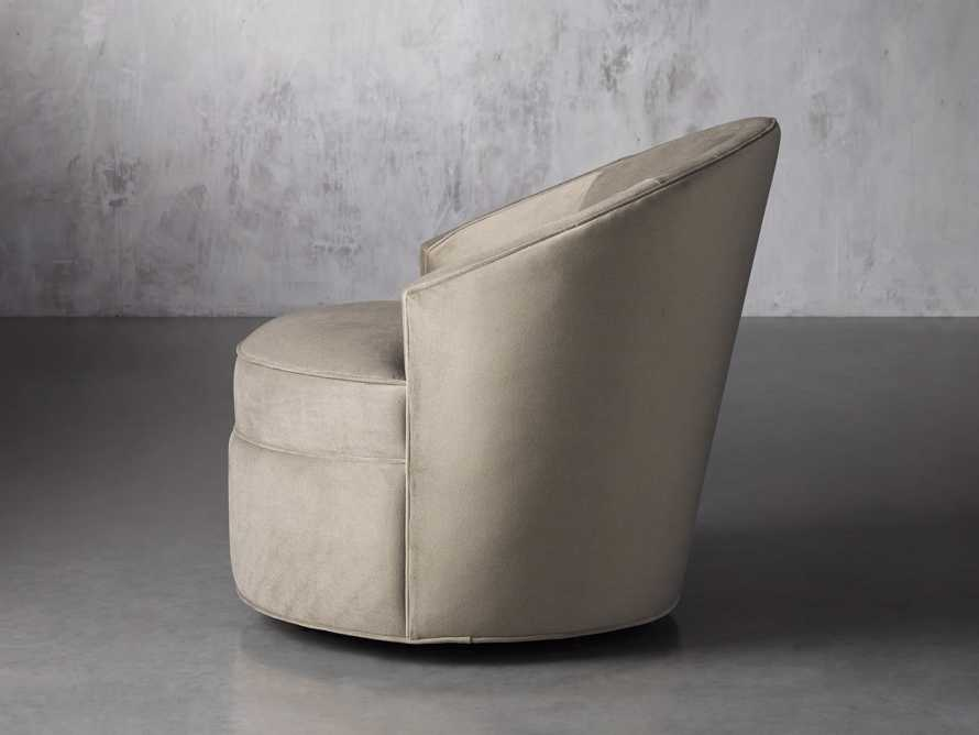 "Harper Upholstered 39"" Swivel Chair, slide 4 of 8"