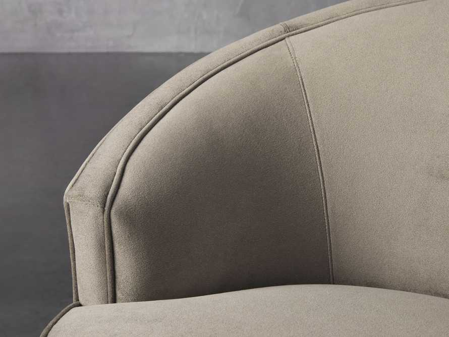 "Harper Upholstered 39"" Swivel Chair, slide 6 of 8"