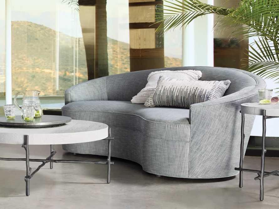 """Harper Outdoor Upholstered 87"""" Sofa, slide 2 of 7"""