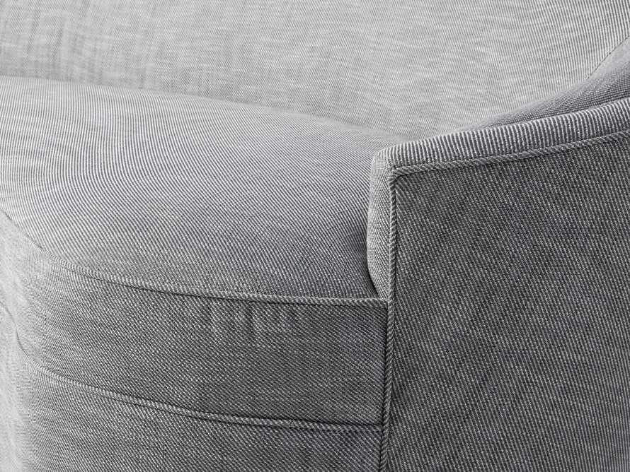"""Harper Outdoor Upholstered 87"""" Sofa, slide 7 of 7"""