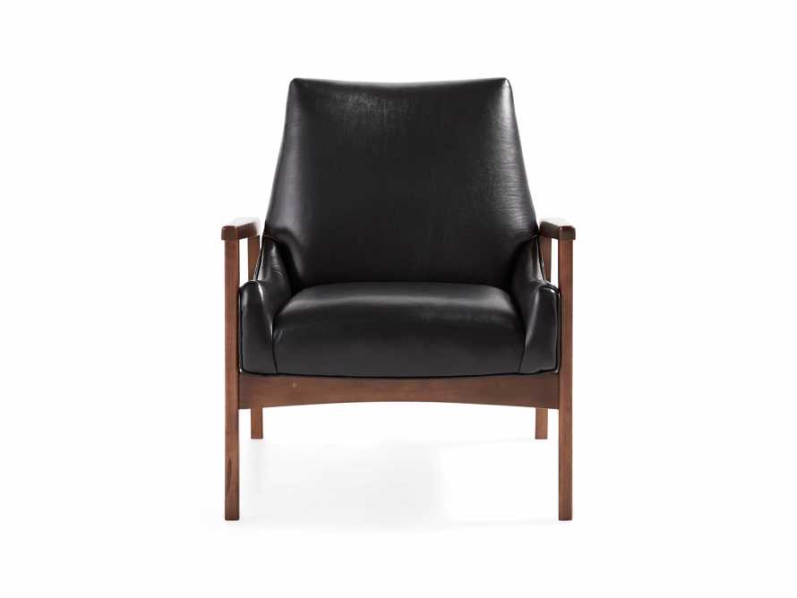 "Kerouac Leather 31"" Chair"