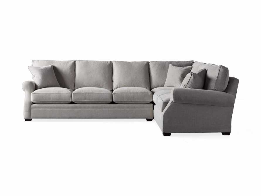 "Landsbury Upholstered 131"" Right Arm Two Piece Corner Sectional, slide 6 of 6"