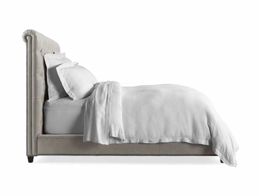 "Nolan 61"" Leather Tufted Queen Bed, slide 6 of 6"