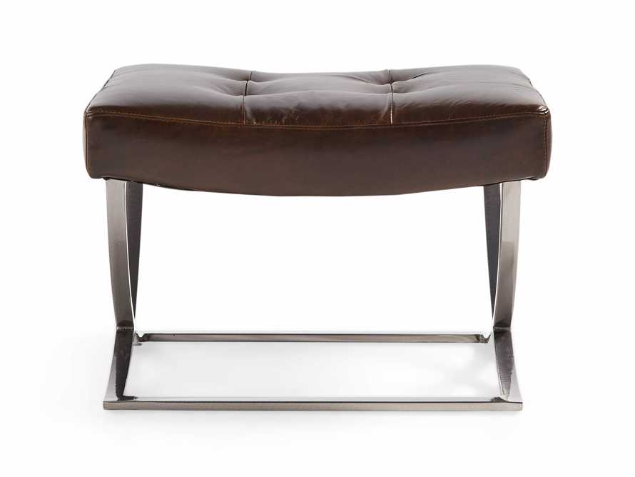"Nico Leather 24"" Ottoman, slide 2 of 2"