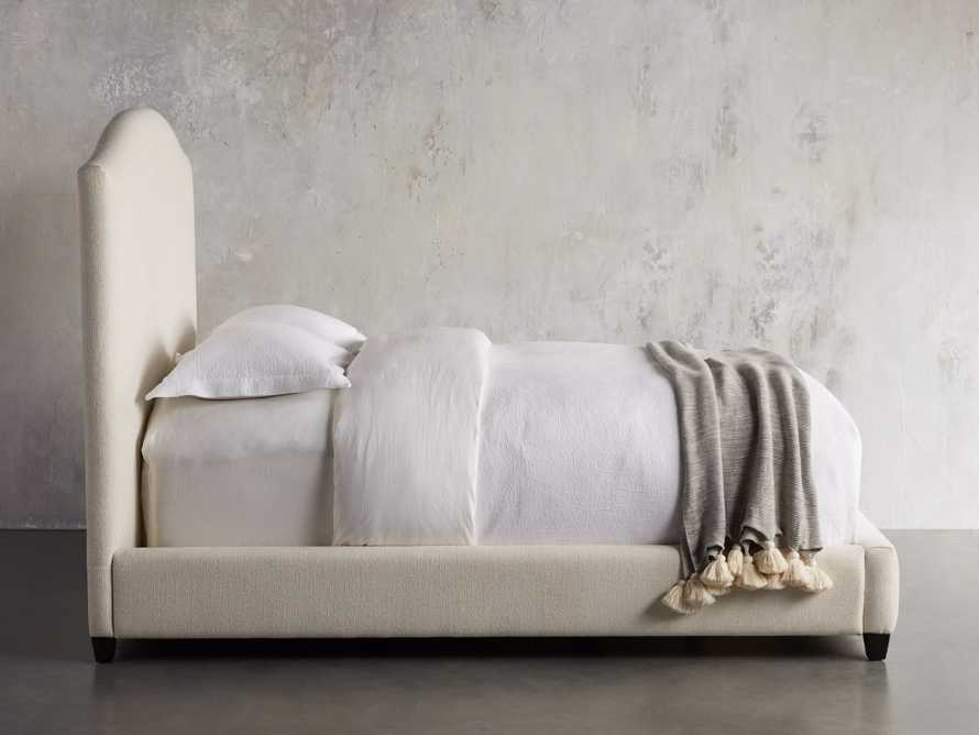 """Omani Upholstered 61"""" Queen Bed in Nona Parchment, slide 6 of 8"""