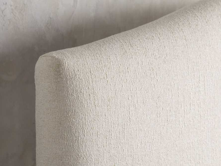 """Omani Upholstered 61"""" Queen Bed in Nona Parchment, slide 4 of 8"""