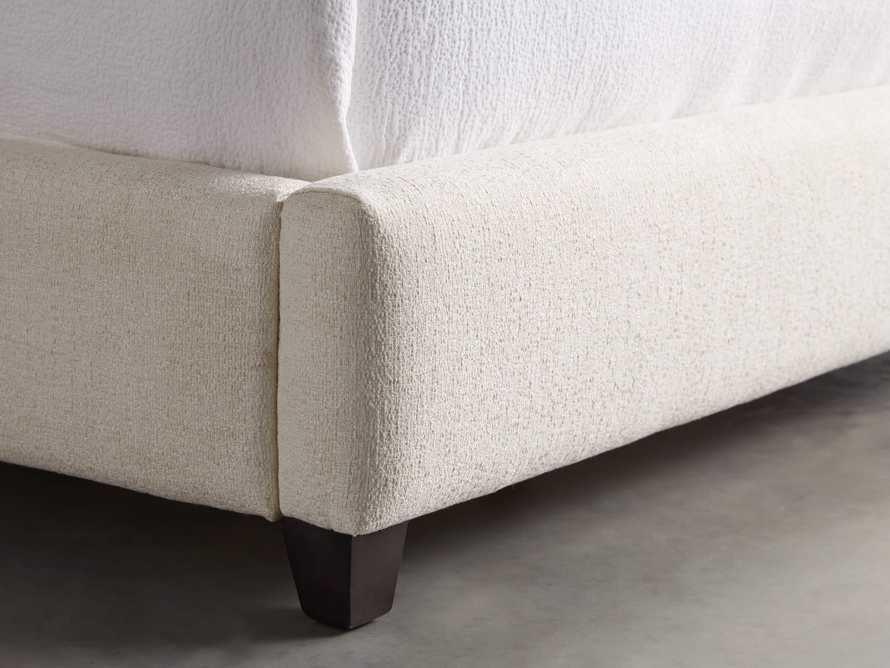 """Omani Upholstered 61"""" Queen Bed in Nona Parchment, slide 2 of 8"""