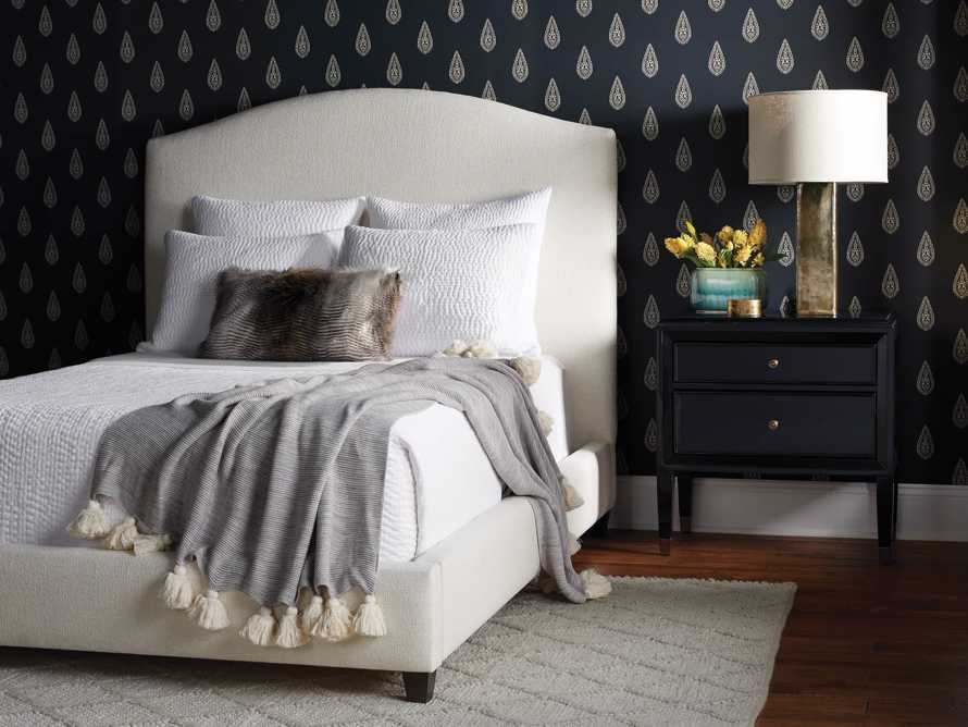 """Omani Upholstered 61"""" Queen Bed in Nona Parchment, slide 8 of 8"""