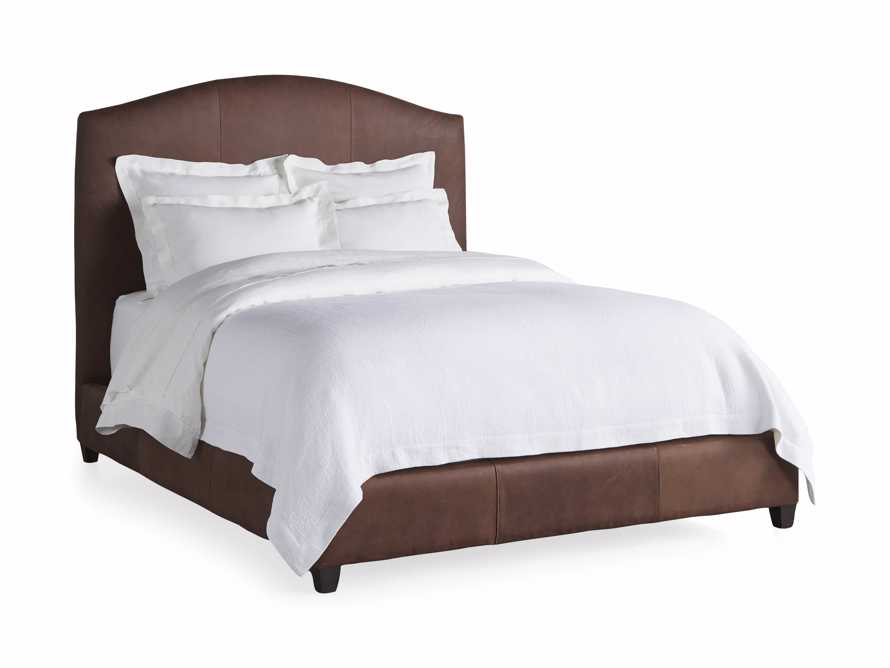 "Omani Leather 61"" Queen Bed, slide 5 of 5"