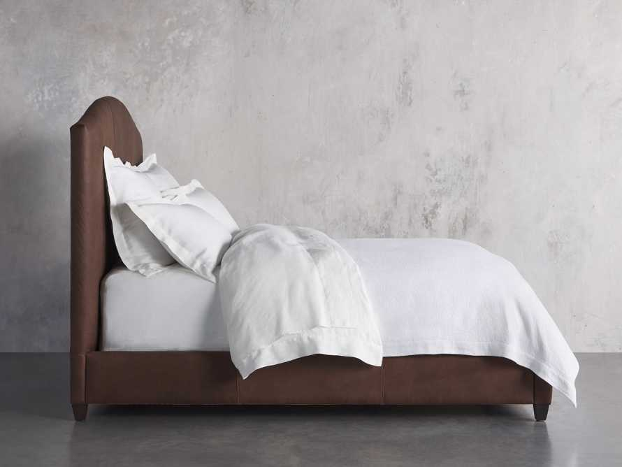 "Omani Leather 61"" Queen Bed, slide 3 of 5"