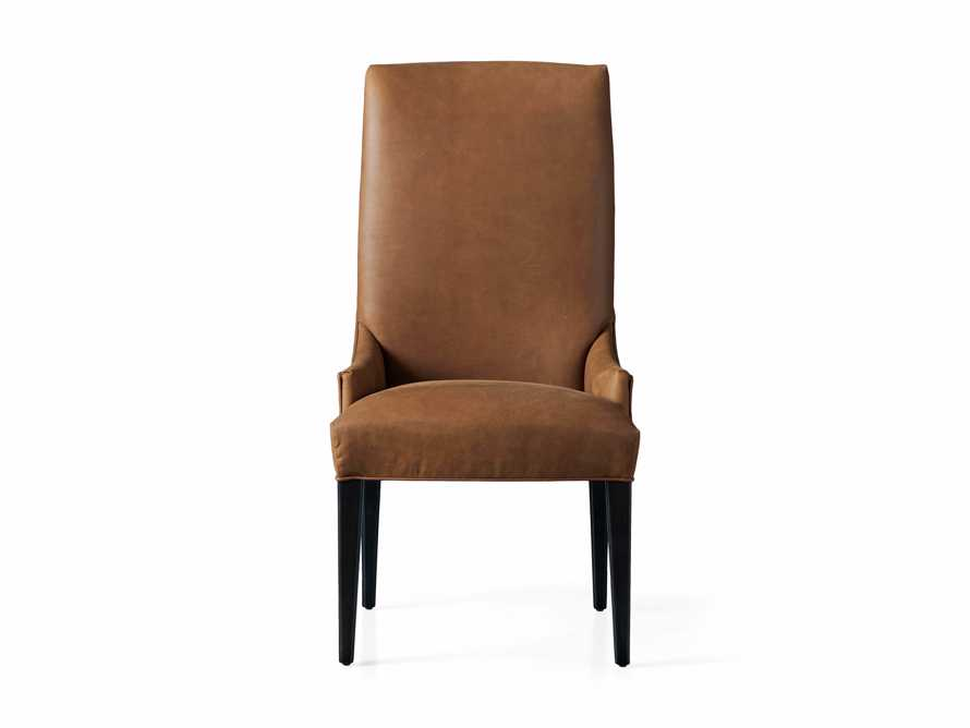 Platinum Leather Dining Side Chair, slide 6 of 7