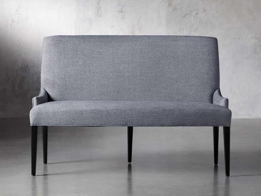 "Rhen Upholstered 58"" Dining Bench, slide 2 of 8"