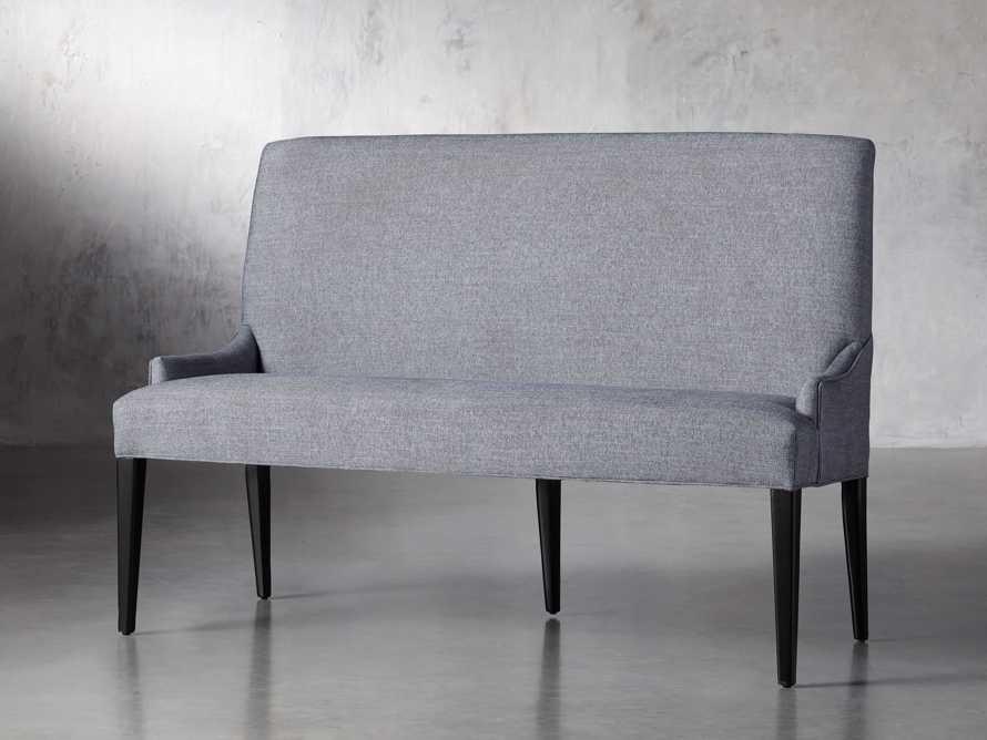 "Rhen Upholstered 58"" Dining Bench, slide 3 of 8"