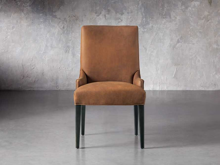 Rhen Leather Dining Side Chair, slide 2 of 8