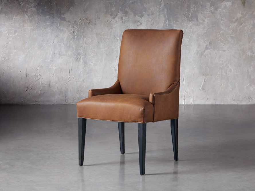 Rhen Leather Dining Side Chair, slide 3 of 8
